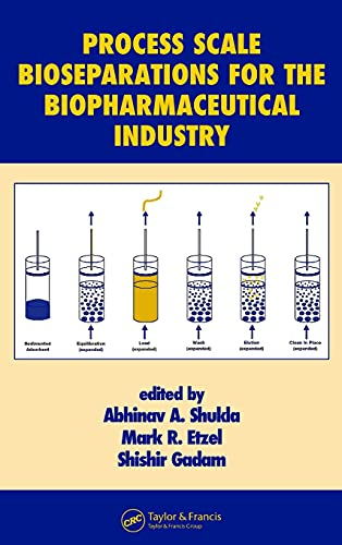 Process Scale Bioseparations for the Biopharmaceutical Industry: 31 (Biotechnology and Bioprocessing)