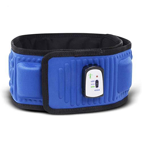 Abnehmen Gürtel, Übung Bein Bauch Fettverbrennung Heizung Bauchmassagegerät, Elektrisch vibrierender Taillengürtel