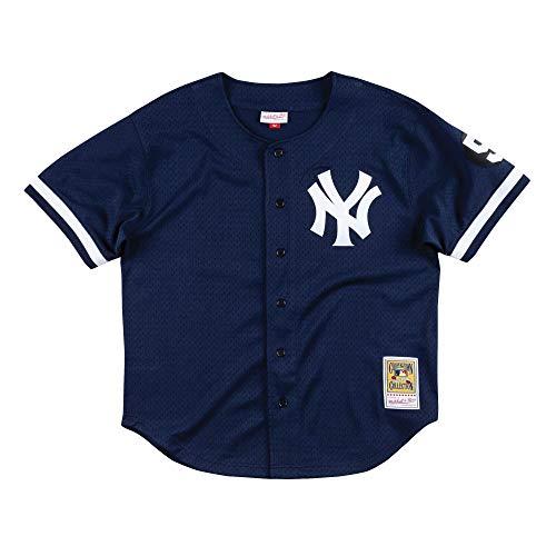 Mitchell & Ness Mariano Rivera 1999 New York Yankees Authentic Mesh BP Jersey (Medium)