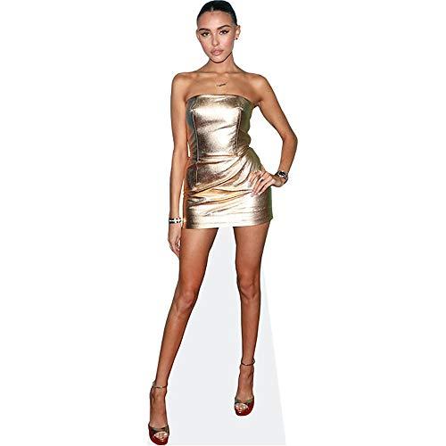 Celebrity Cutouts Madison Beer (Gold Dress) Pappaufsteller lebensgross
