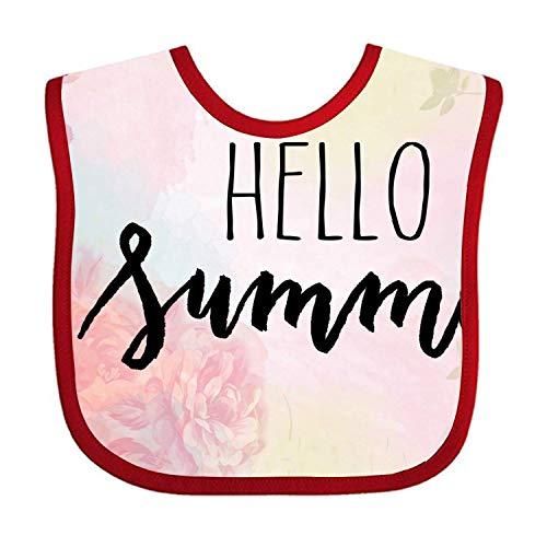 Baby Unisex Infant Hello Summer Print Bib