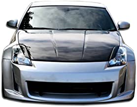 Brightt Duraflex ED-OED-099 AM-S Front Bumper Cover - 1 Piece Body Kit - Compatible With 350Z 2003-2008