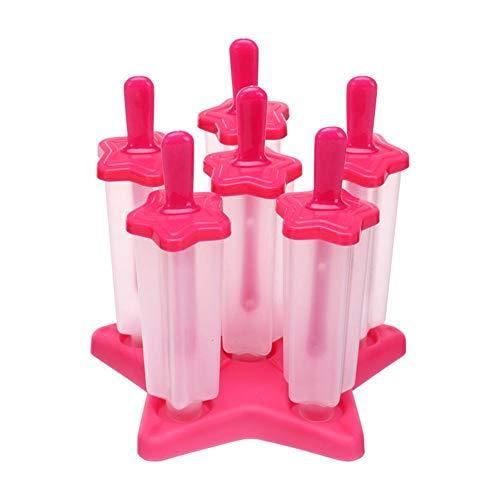 【 Ice Pop Molds Set 】 Los moldes de helado se fabrican con materiales duraderos y son respetuosos con el medio ambiente y seguros para niños. Nuestra máquina para hacer helados ayuda con un diseño respetuoso con el medio ambiente y reutilizable para ...