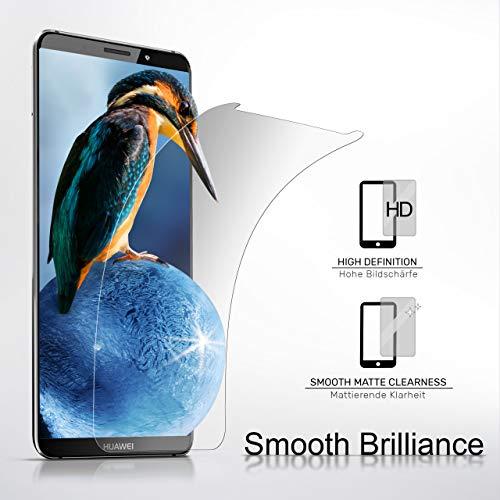 2X Huawei Y7 / Y7 Prime (2017)| Schutzfolie Matt Display Schutz [Anti-Reflex] Screen Protector Fingerprint Handy-Folie Matte Displayschutz-Folie für Huawei Y7 / Y7 Prime (2017) Displayfolie - 2
