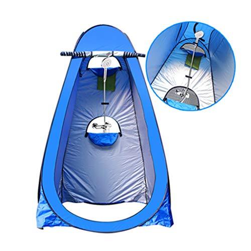Kuppelzelte Camping Pop Up Zelt, Outdoor Badezelt Duschkabine Warmhalten Wechseln der Abdeckung einfach Mobile Toilette (Farbe : B1)