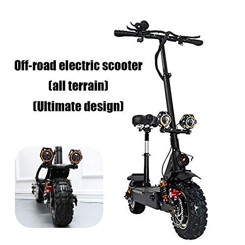 Ylyh Scooter Patinete Eléctrico Monopattino Elettrico Pieghevole Scooter Electric Scooter Bicicletta Fuoristrada per Tutti i Terreni