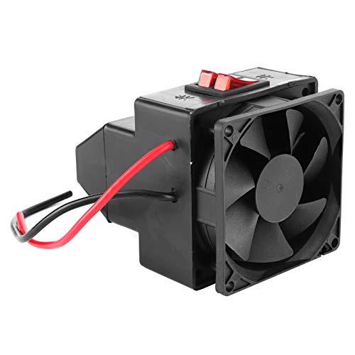 DSED Ventilador de la calefacción del Coche, Calentador de Aire del Negro del desempañador del desempañador del desempañador automático del Calentador de la calefacción del Coche