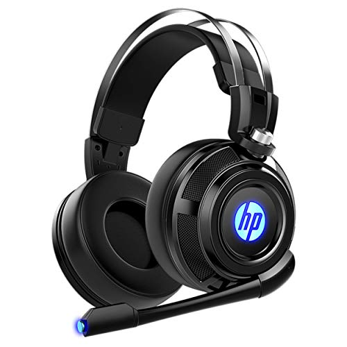 HP Wired Stereo Gaming Headset with mic, for PS4, Xbox One, Nintendo Switch, PC, Mac, Laptop, Over Ear Headphones PS4 Headset Xbox One Headset and LED Light Categories Computers Features