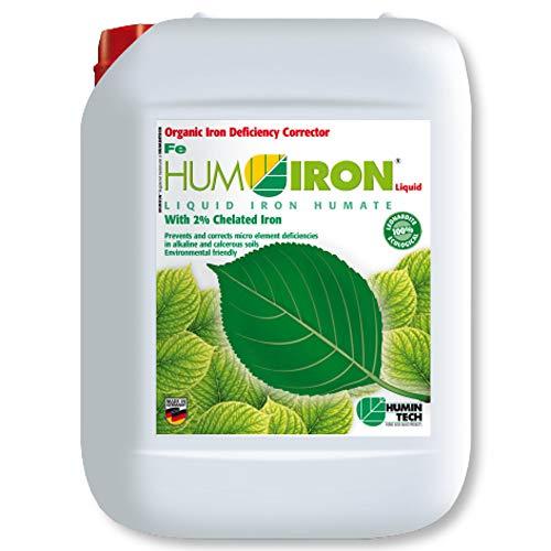 HuminTech® HUMIRON® Fe Liquid 5 l flüssiger organischer Eisendünger Eisenliquid