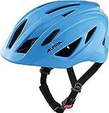 Alpina Unisex Jugend PICO Flash Fahrradhelm, neon Blue Gloss, 50-55 cm