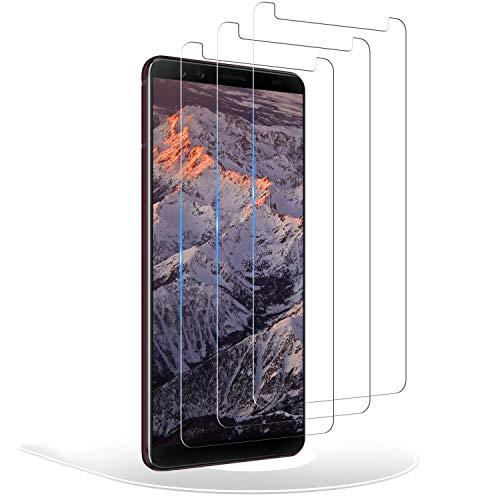 RIIMUHIR Verre Trempé pour HTC U12 Plus, [3 Pièces] Protection Écran pour HTC U12 Plus, Film Protecteur, Anti Rayures, Dureté 9H, Sans Bulles - Transparent
