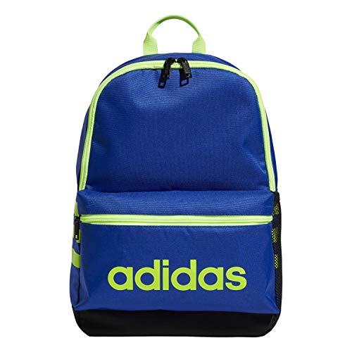 adidas Mochila unisex 978479 Classic 3S para niños, Unisex niños, 978479, Azul real/Negro/Verde, Talla única