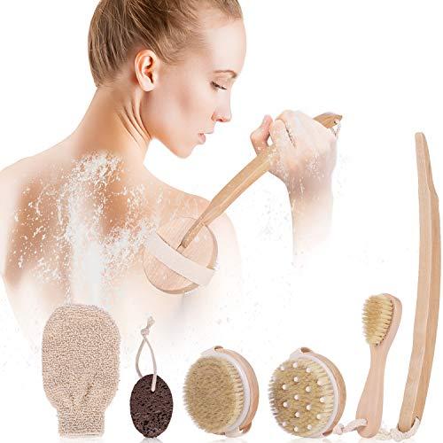 Ensemble de brosses corporelles sèches pour le traitement du drainage lymphatique et de la cellulite