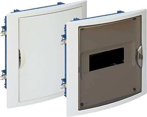 SOLERA Cuadro eléctrico empotrar pladur 8 Elementos Marco y Puerta Blanco 5108HGW
