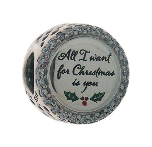 Pandora All I Want For Christmas Multi-Color One Size Charm ENG792016CZ_21