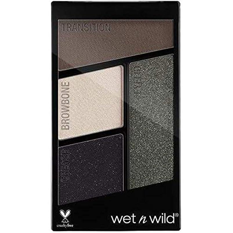 安価なインク瞑想的WET N WILD Color Icon Eyeshadow Quad - Lights Out (並行輸入品)