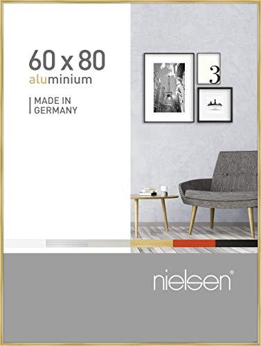 Nielsen Aluminium Bilderrahmen Pixel, 60x80 cm, Gold