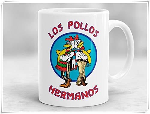 Los Pollos Hermanos Mok, het breken van slechte mok, breken slecht geschenk, het breken van slechte geïnspireerde koffie mok, keramische mok 11Oz