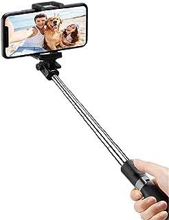 Sansai Portable Pocket Wireless Bluetooth Selfie Stick/Tripod w/Remote Control