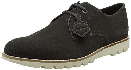 Kickers Kymbo Lace, Zapatos de Cordones Derby Hombre, Gris (Dark Grey Dark Grey), 45