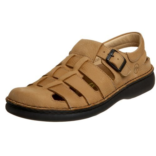 Birkenstock Footprints Merced Sandals (35 EU/US Women 4-Narrow, Honey)