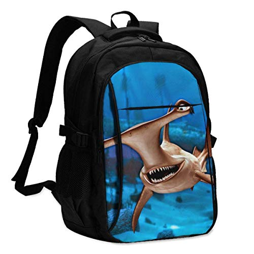 XCNGG Funny Travel Laptop Backpack College School Bag Casual Daypack with USB Charging Port