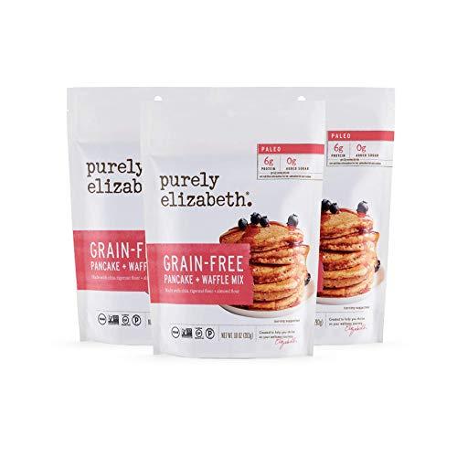 Purely Elizabeth Grain-Free Pancake Mix - Paleo Pancake Gluten-Free Certified Dairy-Free & Non-GMO 100% Vegan Delicious Breakfast 10oz