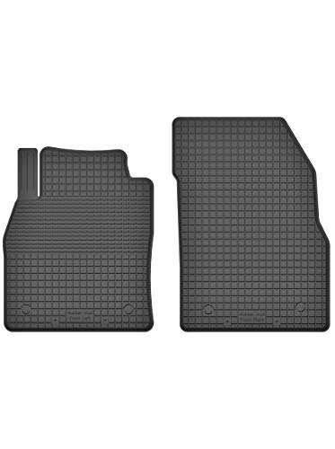 KO-RUBBERMAT 2 Stück Gummifußmatten Vorne geeignet zur OPEL Crossland X (Bj. ab 2017) ideal angepasst