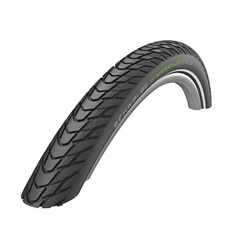 Schwalbe 700X35C (37-622) Marathon E-Plus E-50 Unisex Adult Bicycle Tyre, Black