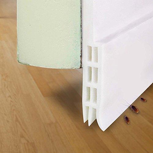 Selbstklebende Tür Türdichtung Dichtungsstreifen Schallschutz Ersatzdichtung Schalldichtung Warme und Kälte Blocker wasserdichtes Tür Siegel Abisolieren Silikon Türstopper gegen Insekt 2