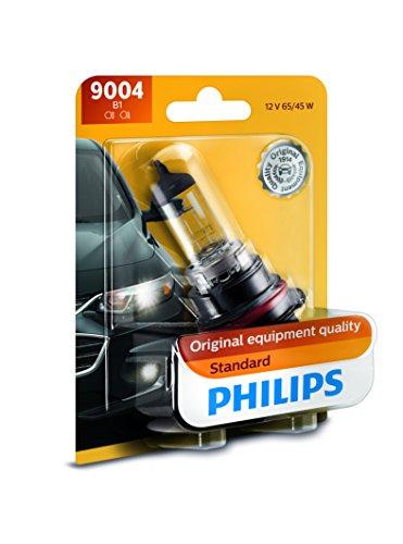 Philips 9004 Standard Halogen Replacement Headlight Bulb
