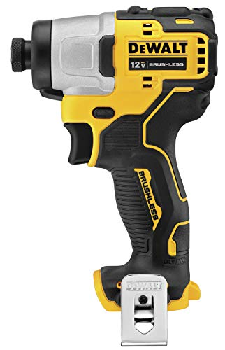 DEWALT XTREME 12V MAX Impact Driver, Cordless, 1/4-Inch, Tool Only (DCF801B)