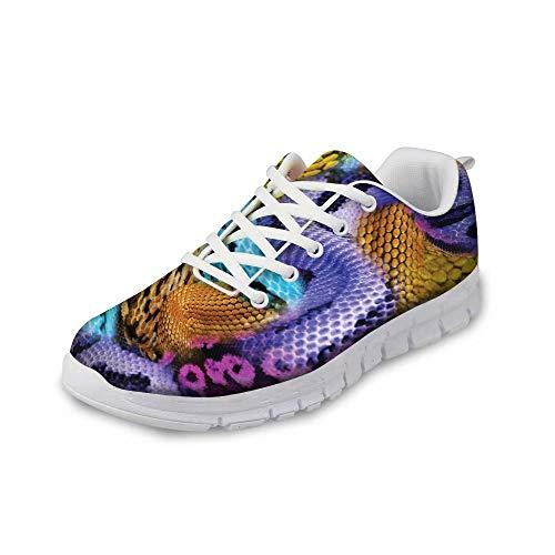 MODEGA Calzado Deportivo de Cruz Hombres Zapatos de Entrenamiento para los Hombres de bádminton de los Hombres del Zapato de la Zapatilla Deportiva Alquiler de los Zapatos de Bolos Tamaño 40 EU