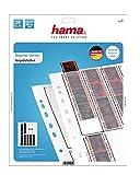 Hama - Negative Sleeves, 24 x 36 mm, Glassine Matt, 315 mm, 250 mm (Importado) 25 St