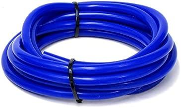 HPS HTSVH6-BLUEx5 Blue 5' Length High Temperature Silicone Vacuum Tubing Hose (60 psi Maxium Pressure, 1/4