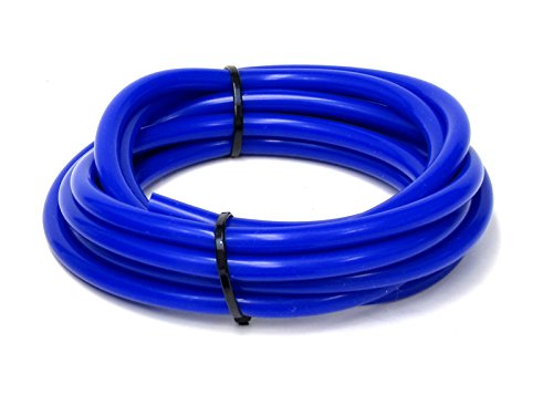 HPS HTSVH35-BLUEx5 Blue 5' Length High Temperature Silicone Vacuum Tubing Hose (60 psi Maxium Pressure, 3.5mm ID)