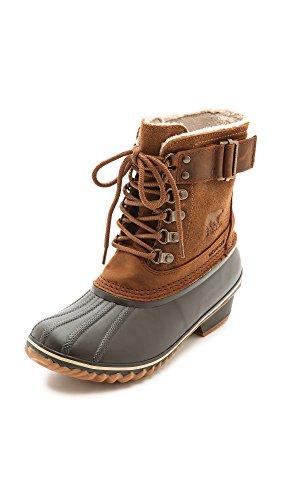 Sorel Women's Winter Fancy Lace II Boot,Elk/Grizzly Bear,8 M US