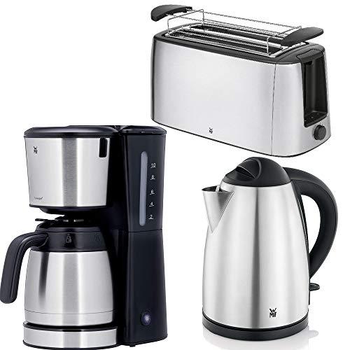 Frühstücksserie WMF Bueno in Cromargan® Edelstahl Thermo KM + 4 Scheiben LS Toaster=3Teile=1 Preis