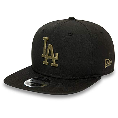 New Era 9FIFTY MLB Los Angeles Dodgers Utility Snapback Cap schwarz/Oliv, M/L