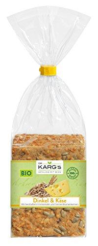 Knäcke BIO Dinkel-Käse-Sonnenblumenkerne 200 g Beutel Dr. Karg