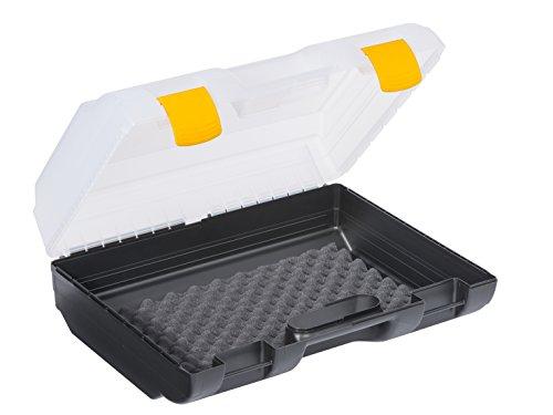 Allit 458680 Maschinenkoffer, schwarz, transparent