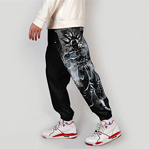 Spricen Dragon Ball Anime Jogginghose Unisex Herren Damen Hosen Lounge Pants Trainingshose Trousers S