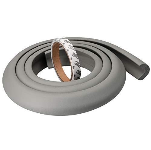 mumbi Kantenschutz, Kunststoff, Grau, 2 Meter