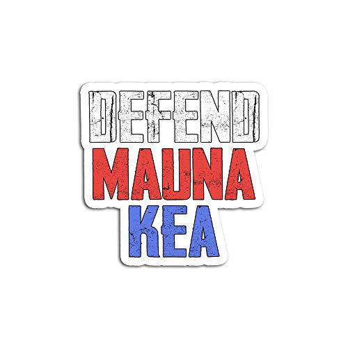 Hand Wooden Customizable Pegatinas Personalizables de Madera de Mano Mauna Kea Defend Protect Activista KU Kiai Pegatinas para Personalizar (3 Piezas/Paquete)