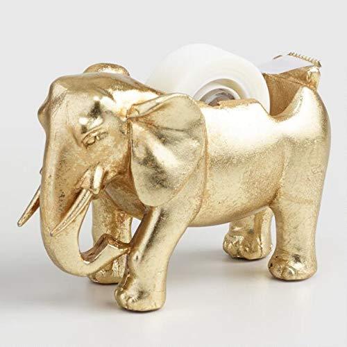 Way Home Fair Gold Elephant Tape Dispenser