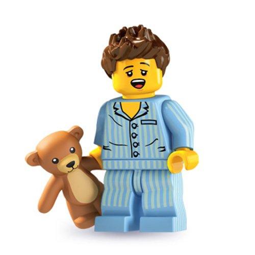 LEGO Figurines à Collectionner: La Tête Endormie Mini-Figurine (Série Six)