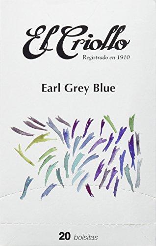 El Criollo Té Earl Grey Blue Gourmet - 40 bolsitas