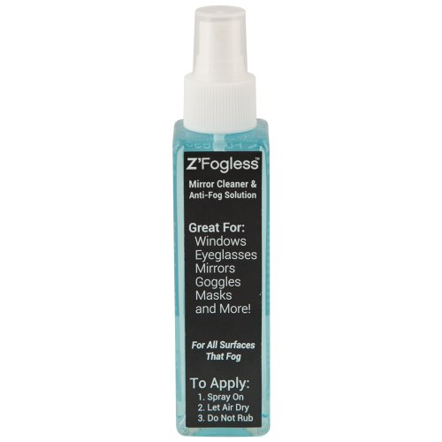 Zadro Anti-Fog Spray - 4 oz Bottle - Two Bottle Set