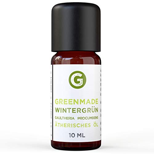 Wintergrün Öl 10ml - 100prozent naturreines, ätherisches Öl von greenmade