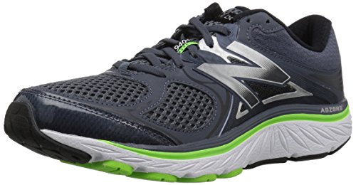 New Balance Men's 940 V3 Running Shoe, Grey/Green, 13 4E US